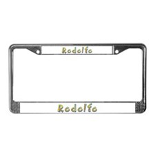 Rodolfo Giraffe License Plate Frame
