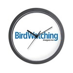 BirdWatching Wall Clock