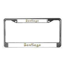 Santiago Giraffe License Plate Frame