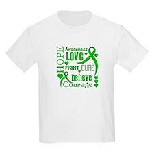 Gastroparesis Hope Words T-Shirt