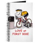 Love at First Bike T-shirt.png Journal