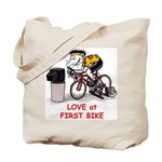 Love at First Bike T-shirt.png Tote Bag