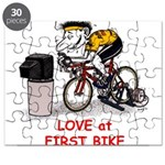 Love at First Bike T-shirt.png Puzzle