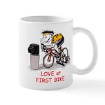 Love at First Bike T-shirt.png Mugs