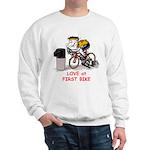 Love at First Bike T-shirt.png Sweatshirt