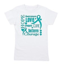 Myasthenia Gravis Hope Words Girl's Tee