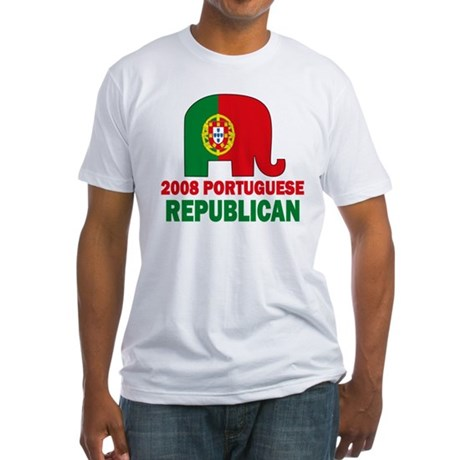 Portuguese Family Fitted T-Shirt
