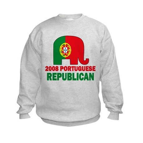 Portuguese Family Kids Sweatshirt
