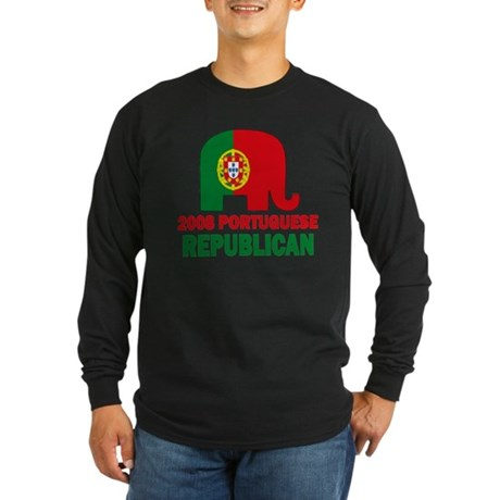 Portuguese Family Long Sleeve Dark T-Shirt