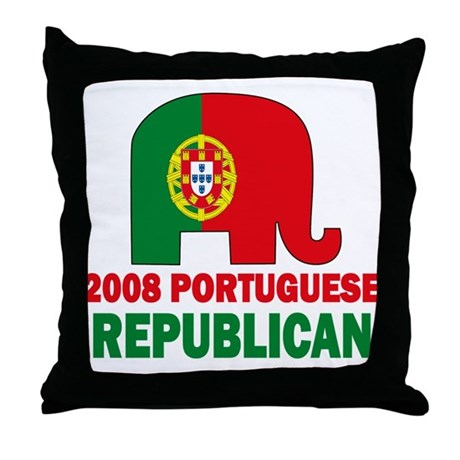 Portuguese Family Throw Pillow