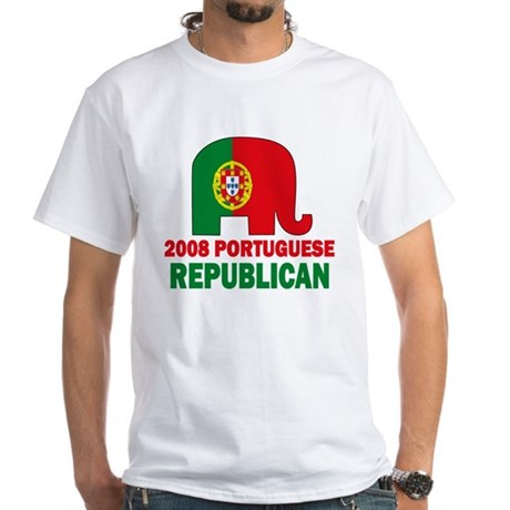 Portuguese Family White T-Shirt