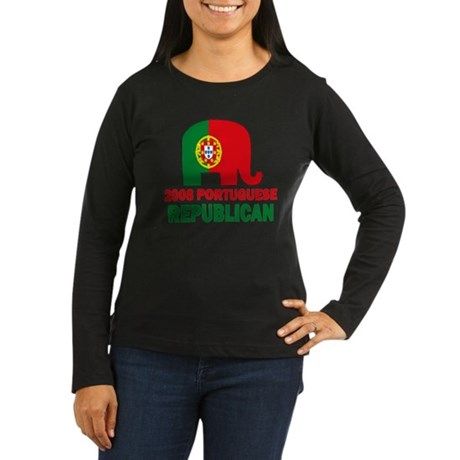 Portuguese Family Women's Long Sleeve Dark T-Shirt
