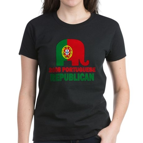 Portuguese Family Women's Dark T-Shirt