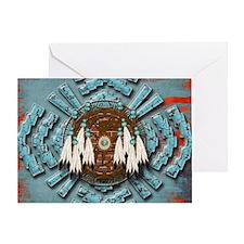 Native Dream Catcher Greeting Card
