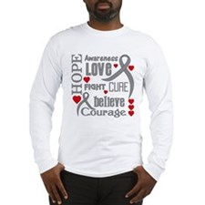 Diabetes Hope Words Long Sleeve T-Shirt