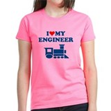 ENGINEER SHIRT I LOVE MY ENGI Tee