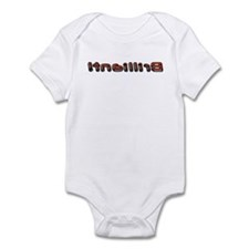 Brilliant! flipped Infant Bodysuit