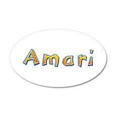 Amari Giraffe 35x21 Oval Wall Decal