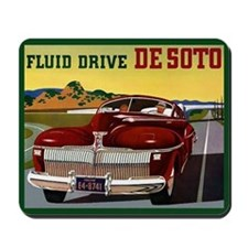 1942 Desoto Chrysler Classic Car Mousepad