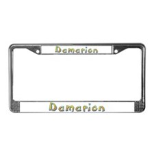 Damarion Giraffe License Plate Frame