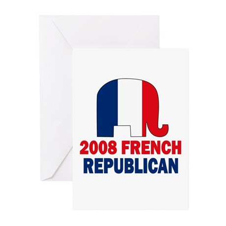 French Republican Greeting Cards (Pk of 10)