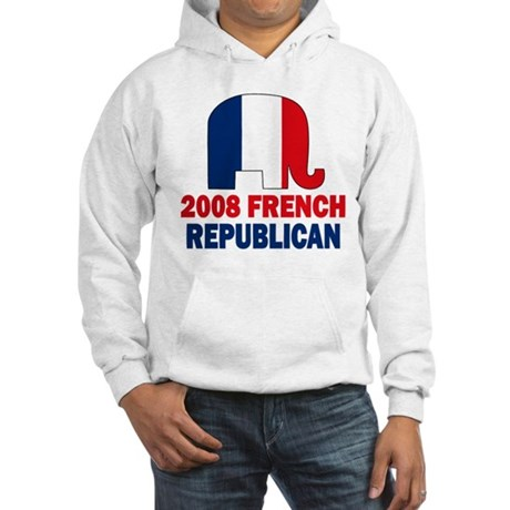 French Republican Hooded Sweatshirt