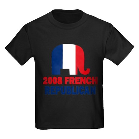 French Republican Kids Dark T-Shirt