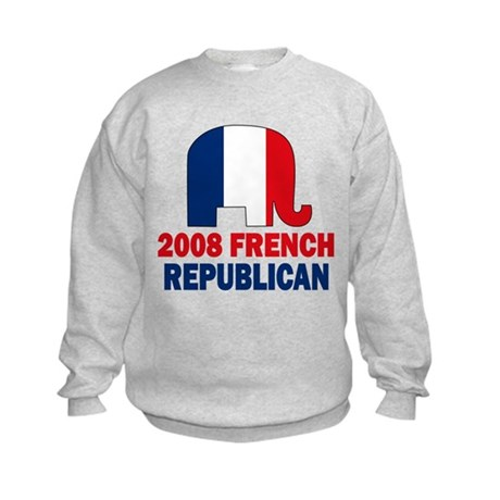 French Republican Kids Sweatshirt