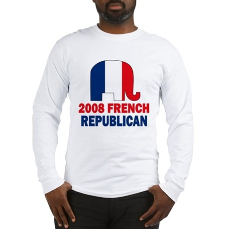 French Republican Long Sleeve T-Shirt