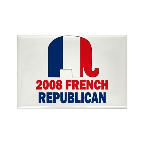 French Republican Rectangle Magnet