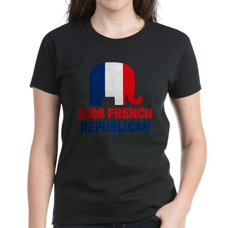 French Republican Women's Dark T-Shirt