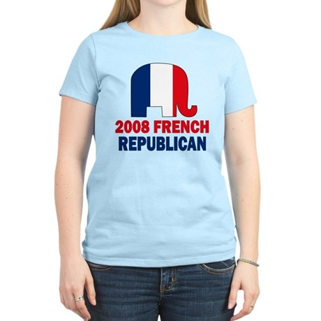 French Republican Women's Light T-Shirt