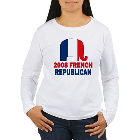 French Republican Women's Long Sleeve T-Shirt