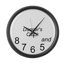 dancer's Large Wall Clock