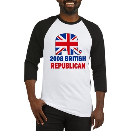British Republican Baseball Jersey