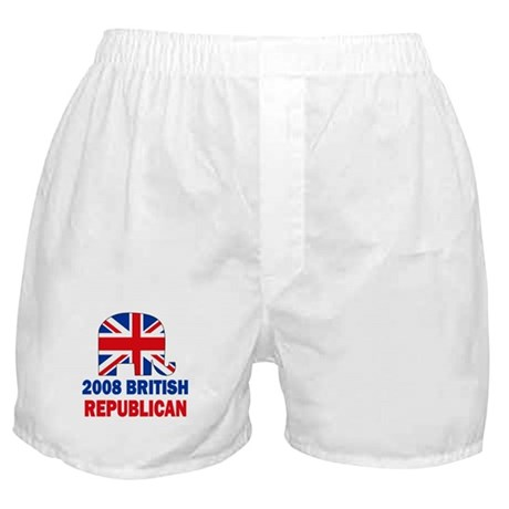 British Republican Boxer Shorts