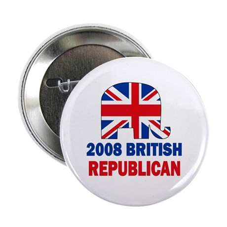 British Republican Button