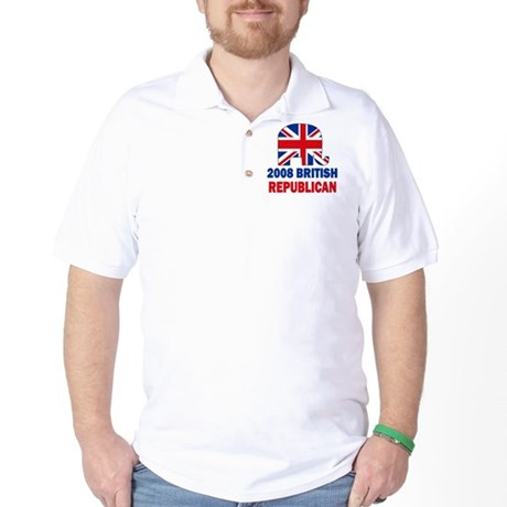 British Republican Golf Shirt