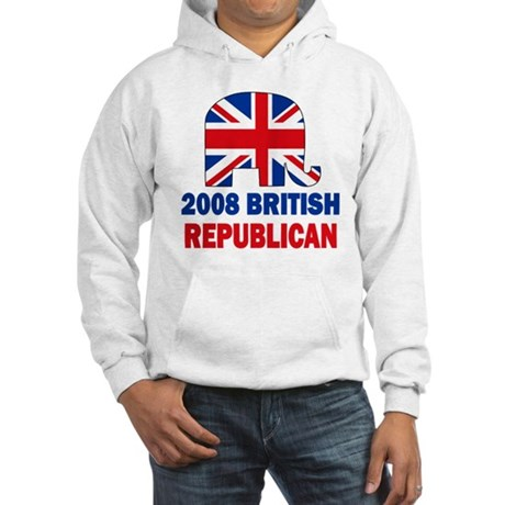 British Republican Hooded Sweatshirt