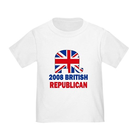 British Republican Toddler T-Shirt