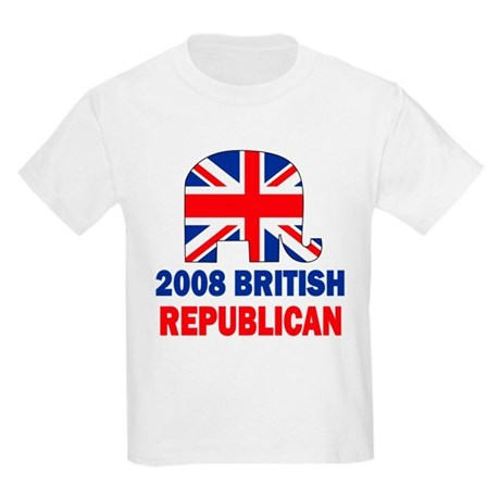 British Republican Kids Light T-Shirt