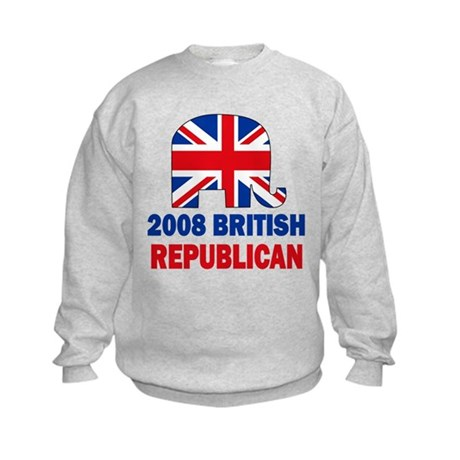 British Republican Kids Sweatshirt