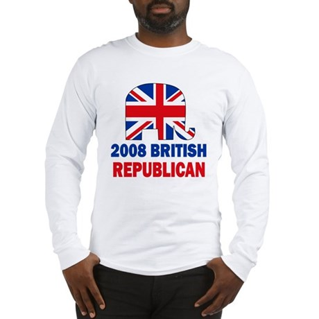 British Republican Long Sleeve T-Shirt