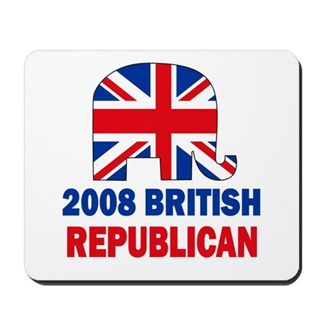 British Republican Mousepad
