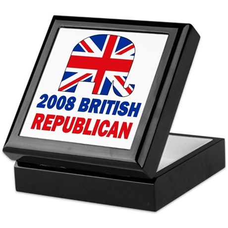 British Republican Keepsake Box