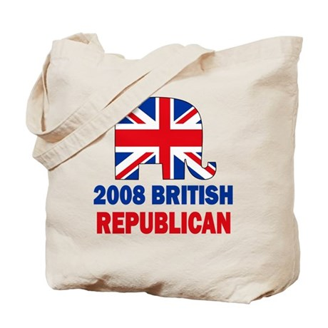 British Republican Tote Bag