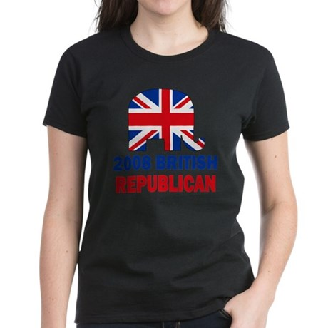 British Republican Women's Dark T-Shirt