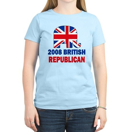 British Republican Women's Light T-Shirt
