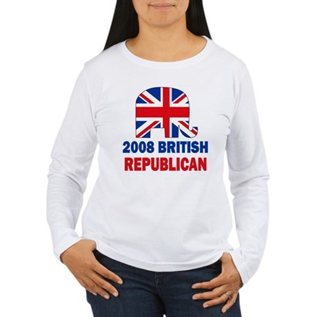 British Republican Women's Long Sleeve T-Shirt
