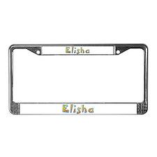 Elisha Giraffe License Plate Frame